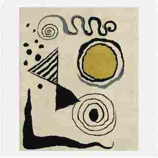 After Alexander Calder, Mobile (tapestry)