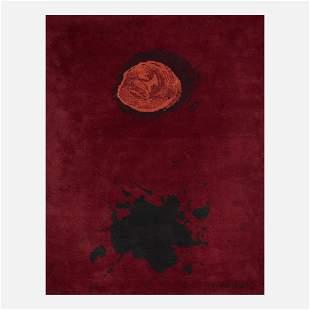 After Adolph Gottlieb, Burst pile carpet