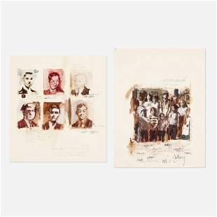 George Deem A Family Drawing Graduation Drawing