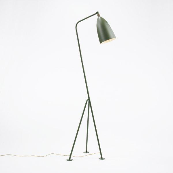 105: Greta Grossman Grasshopper floor lamp