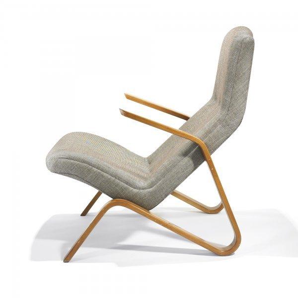 110: Eero  Saarinen Grasshopper lounge chair