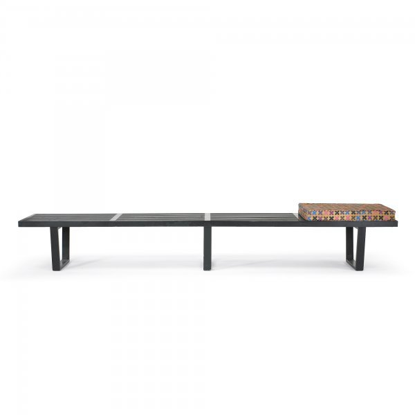 120: George Nelson & Associates Slat bench, model 4693