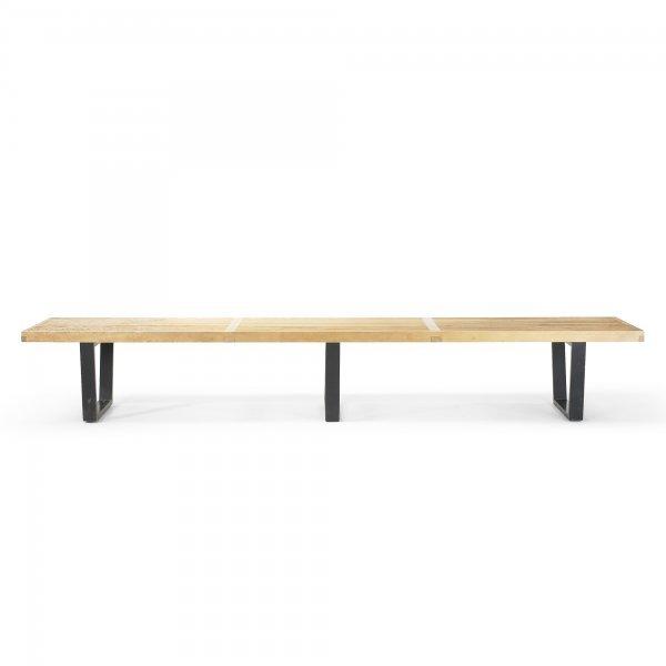 121: George Nelson & Associates Slat bench, model 4992