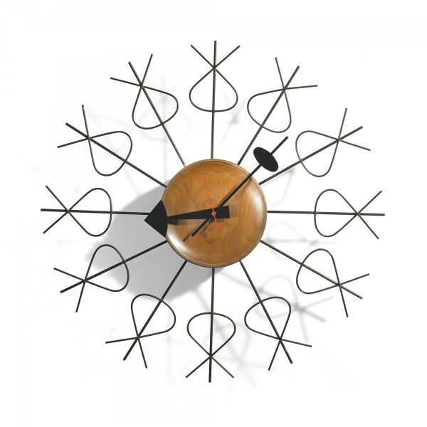 133: George Nelson & Associates Pretzel clock
