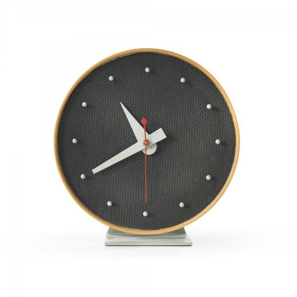 145: George Nelson & Associates Masonite table clock