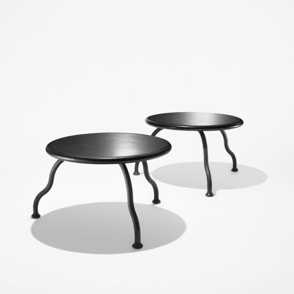 106: Atelier Van Lieshout Bad Little Tables, pair