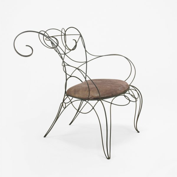109: Andre Dubreuil Ram chair