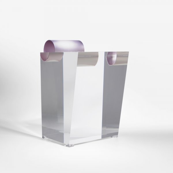 111: Shiro Kuramata Acrylic Stool