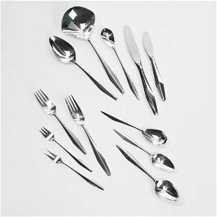 149: Gio Ponti Diamond silverware
