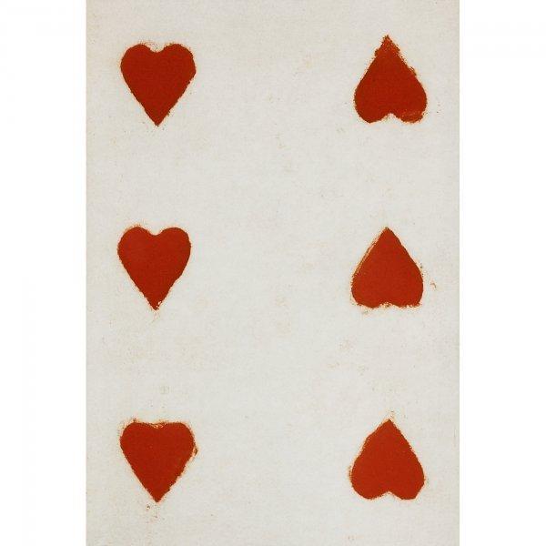 600: Donald Sultan Six Hearts