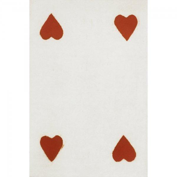 601: Donald Sultan Four Hearts