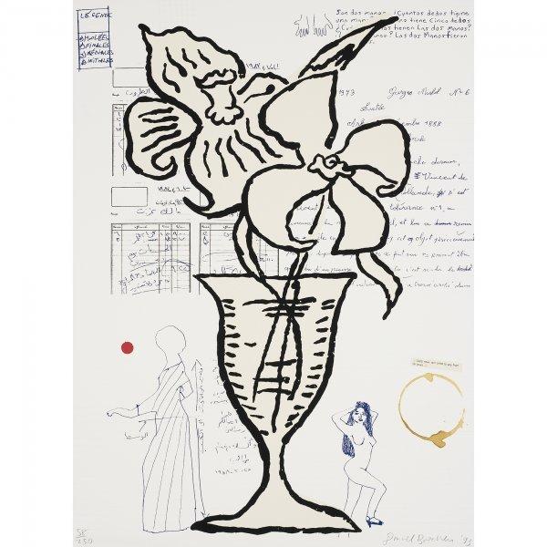712: Donald Baechler Flowers