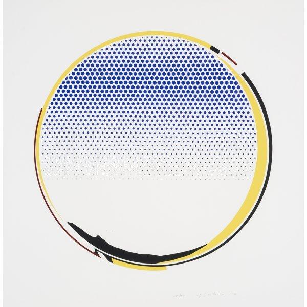 734: Roy Lichtenstein Mirror