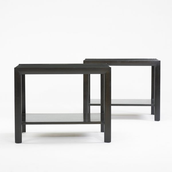 115: American occasional tables, pair