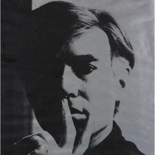 104: Andy Warhol Self-Portrait