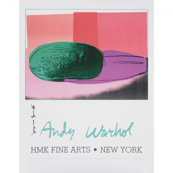 105: Andy Warhol Watermelon poster