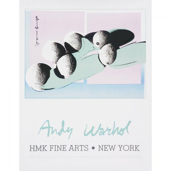 106: Andy Warhol Cantaloupes I poster