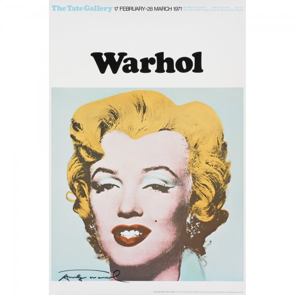 108: Andy Warhol Marilyn poster