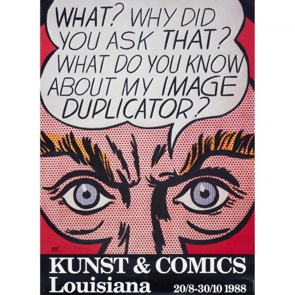 109: Roy Lichtenstein Kunst & Comics poster