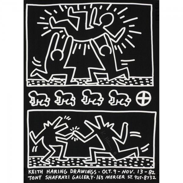 113: Keith Haring Keith Haring Drawings poster