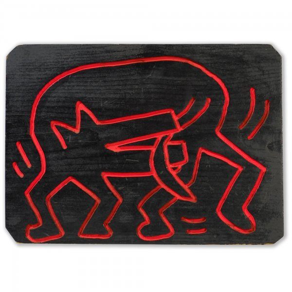 115: Keith Haring untitled