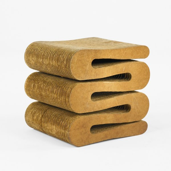 107: Frank Gehry Wiggle stool