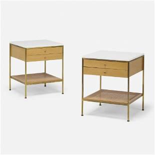 Paul McCobb, Nightstands model 8714, pair