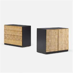 Harvey Probber, Cabinets from the Artisan Collection