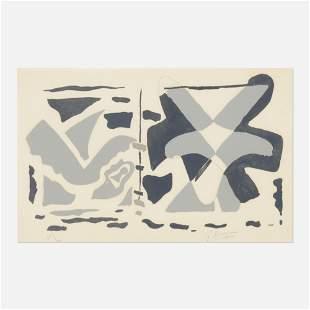 Georges Braque, Fenetre II: Oiseau Gris