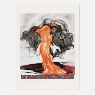 James Rosenquist, The Flame Still Dances on Leo's Book