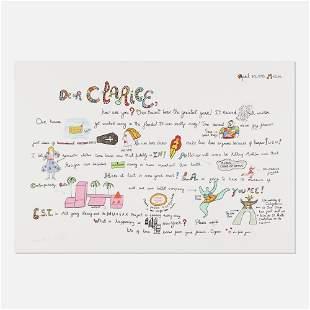 Niki de Saint Phalle, Dear Clarice
