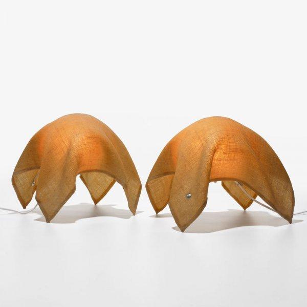106: François Arnal Ghost lamps, pair