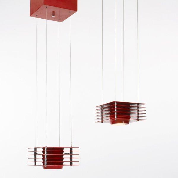 116: Ettore Sottsass Hikary lamps, pair