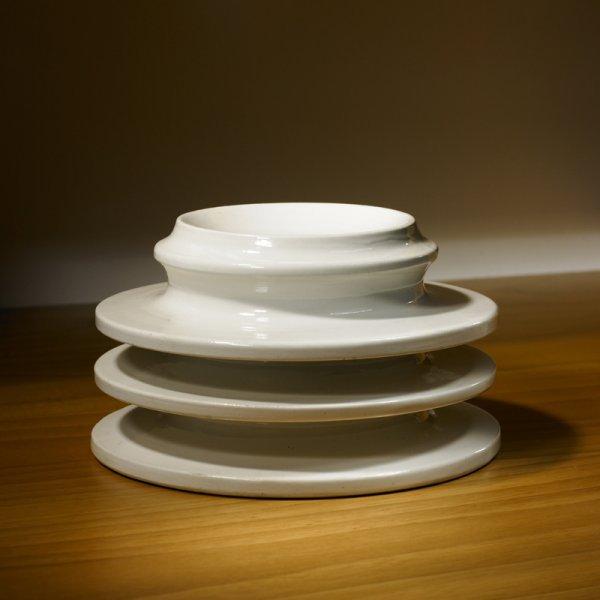 119: Ettore Sottsass Rocchetti e Isolatori vase
