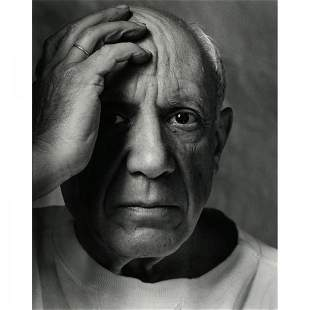Arnold Newman Pablo Picasso, Vallauris, France