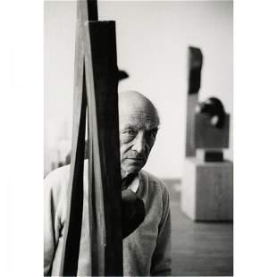 Richard Schulman untitled (Portrait of Noguchi)