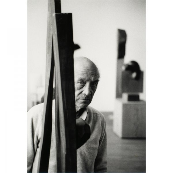 811: Richard Schulman untitled (Portrait of Noguchi)
