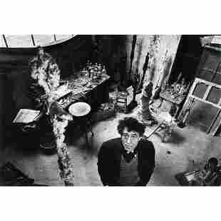 Robert Doisneau Portrait of Alberto Giacometti