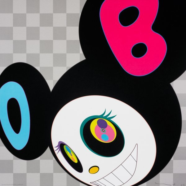 862: Takashi Murakami And Then (black)