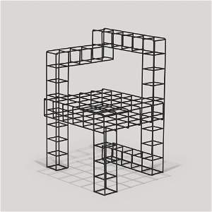 RO/LU, Sitting as Seeing (after Rietveld)