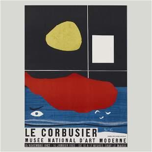 Le Corbusier exhibition poster