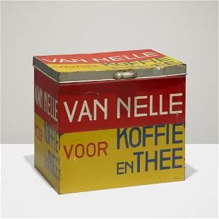 Jacob Jongert, Coffee and tea box