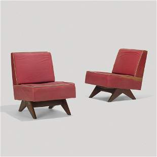 Pierre Jeanneret, Lounge chairs
