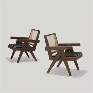 Pierre Jeanneret, Easy armchairs