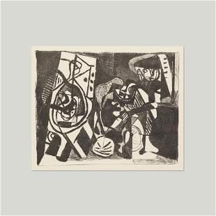 Pablo Picasso, Scene d'interieur
