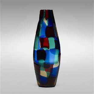 Fulvio Bianconi, Pezzato vase, model 4393