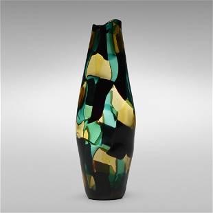 Fulvio Bianconi, Pezzato Americano vase, model 4393