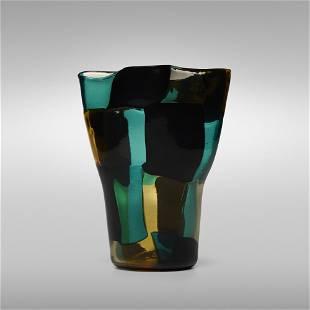 Fulvio Bianconi, Pezzato Americano vase, model 4911