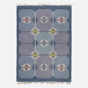 Ingegerd Silow, Flatweave carpet