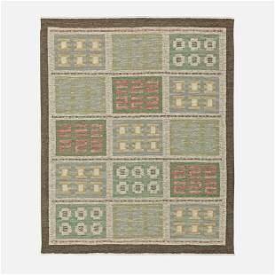 Svensk Hemslojd, Flatweave carpet